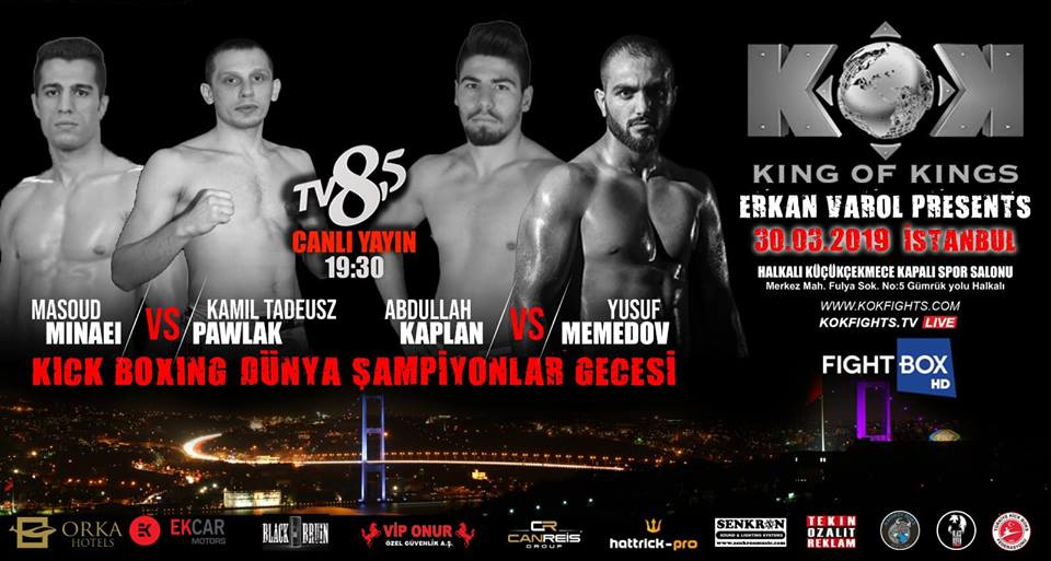 Results for KOK Fight Series from Istanbul, Turkey 30.03.2019