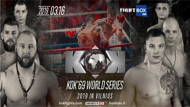 FightBox's KOK Hero's World Series - LIVE from Vilnius, Lithuania 16.03.2019