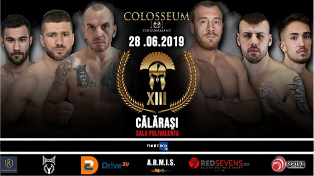 Colosseum Tournament 13 LIVE from Calarasi, Romania 28.06.2019