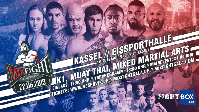 Results for Mix Fight Championship 26 from Kassel, Germany 22.06.2019