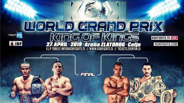 KOK World GP - LIVE from Celje, Slovenia 27.04.2019