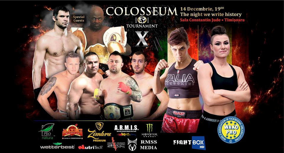 Colosseum Tournament X LIVE from Timisoara, Romania 14.12.2018