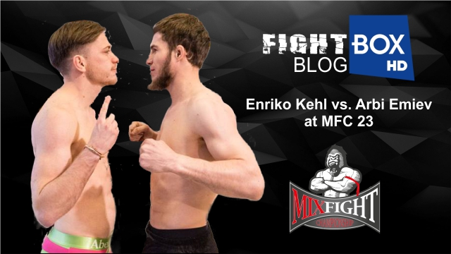 Enriko Kehl vs. Arbi Emiev at MFC 23