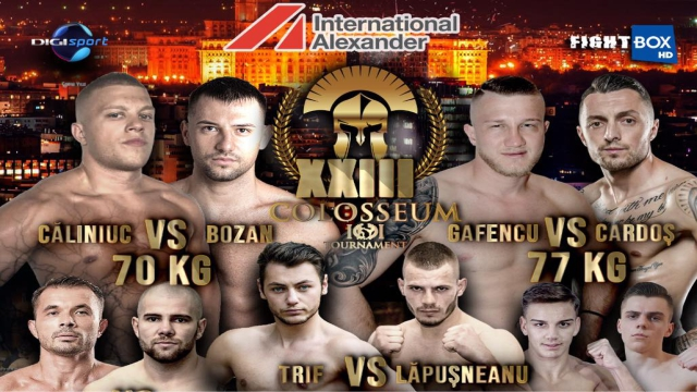 Colosseum Tournament Kickboxing XXIII - LIVE from Bucharest, Romania 26.02.2021