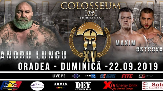 Colosseum Tournament XV - LIVE from Oradea, Romania 22.09.2019