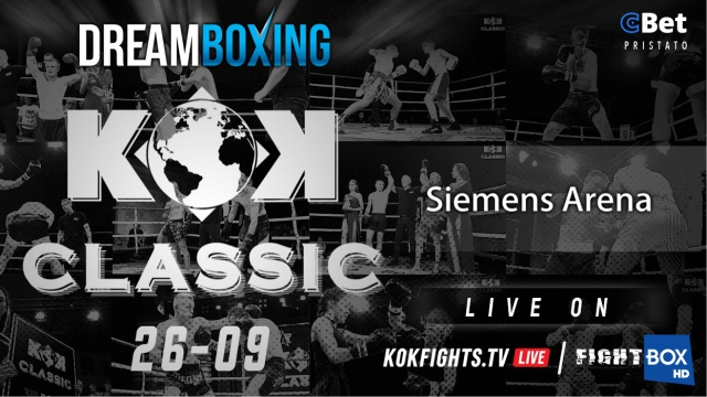 KOK Classic 3 LIVE from Vilnius, Lithuania 26.09.2020