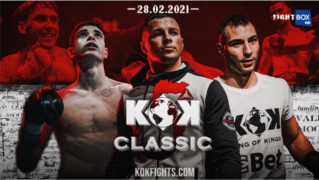 KOK Classic 5 - LIVE on FightBox 28.02.2021 from Lithuania