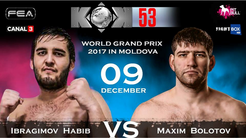 FightBox's KOK Hero's World Series - LIVE from Chisinau, Moldova 09.12.2017