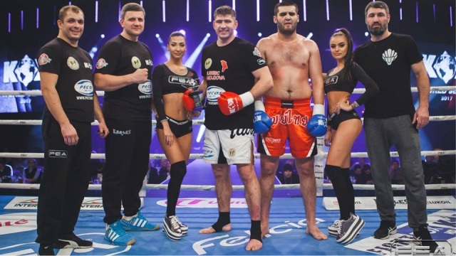 Results for FightBox's KOK Hero's World Series LIVE 09.12.2017 from Moldova