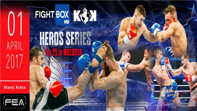 FightBox's KOK Hero's Series - LIVE on FightBox HD from Chisinau, Moldova on April 1st at 6:30pm CET