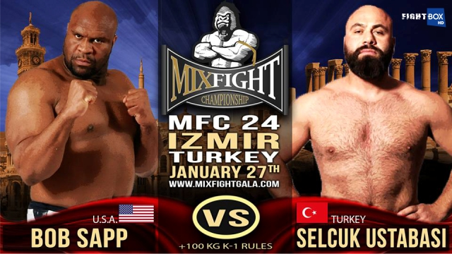 Mix Fight Championship 24 - LIVE on FightBox HD from Izmir, Turkey on Saturday January 27th at 7:45 pm CET