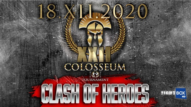 "Results for Colosseum Tournament XXII ""Clash of Heroes"" from Bucharest, Romania 18.12.2020"