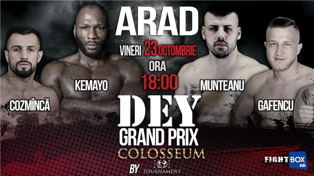 Results for Colosseum Tournament Kickboxing from Arad, Romania 23.10.2020