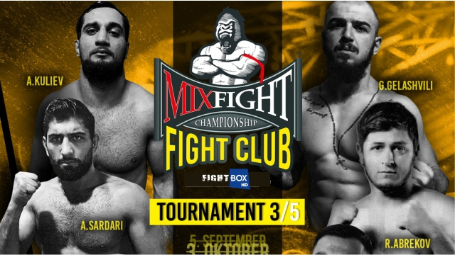 Results for Mix Fight Championship from Darmstadt, Germany 24.10.2020