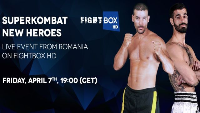 Superkombat NEW HEROES - LIVE on FightBox HD on Friday April 7th at 7:00pm CET