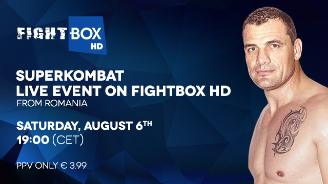 Superkombat NEW HEROES - LIVE on FightBox HD on Saturday August 6th at 7:00pm CET