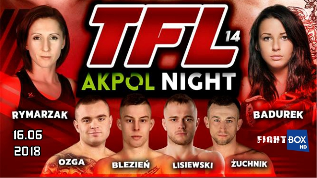 Results for TFL 14 from Kraśnik, Poland 16.06.2018