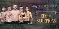 "Colosseum Tournament ""Rise of Scorpions"" LIVE on FightBox HD 20.04.2018 from Iasi, Romania"