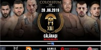 Results for Colosseum Tournament Kickboxing 13 from Calarasi, Romania 28.06.2019