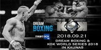 Results for Dream Boxing / KOK World Series from Kaunas, Lithuania 21.09.2018