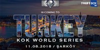 FightBox's KOK Hero's World Series - LIVE from Sarkoy, Turkey 11.08.2018