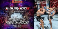 Results for MMA Bushido 77 from Vilnius, Lithuania 03.05.2019