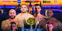 RXF MMA LIVE on FightBox HD 01.10.2018 from Cluj-Napoca, Romania