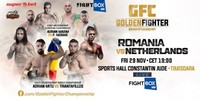 "Results for Golden Fighter Kickboxing 6 ""Romania vs. Holland"" from Timisoara, Romania 29.11.2019"