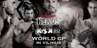 FightBox's KOK Hero's World Series - LIVE from Vilnius, Lithuania 16.11.2019