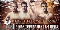 Mix Fight Gala 21 - LIVE on FightBox HD from Heilbronn, Germany on Saturday May 6th at 9:00 pm CEST